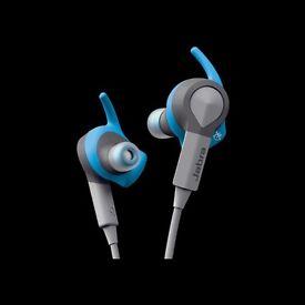 Jabra SportCoach Wireless Headphones-Brand New-Blue Colour