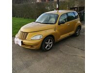 CHRYSLER PT CRUISER LIMITED EDITION GOLD AUTOMATIC