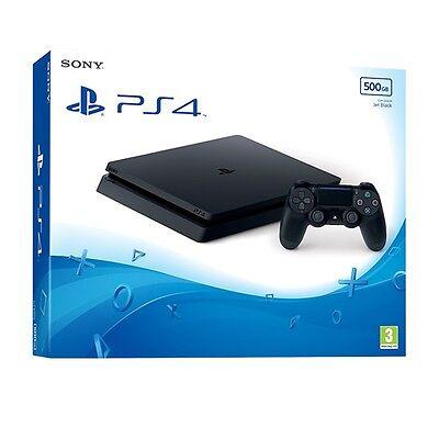 PS4 Slim 500GB Black Console
