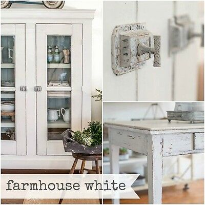 Miss Mustard Seed's Milk Paint Farmhouse White - Sample Size furniture painting