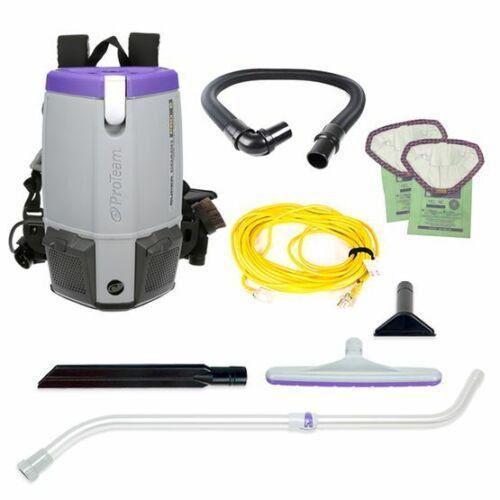 NEW!!  ProTeam Super Coach Pro 6, 6 qt. Backpack Vacuum  107310