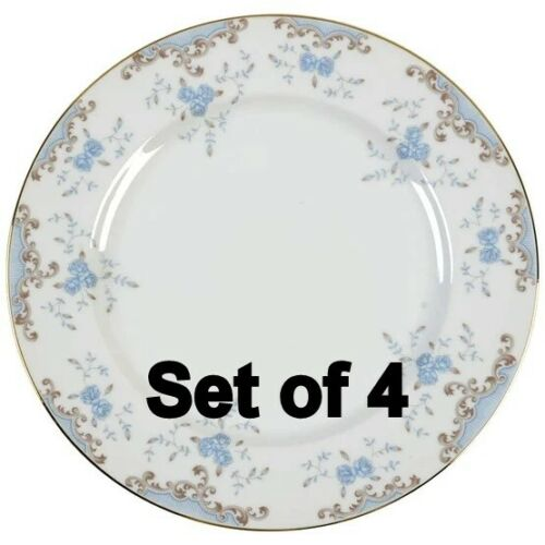 Set of 4  Imperial China Japan Seville W. Dalton Dinner Plates 10 3/8
