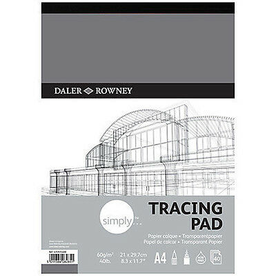 Daler Rowney Simply Tracing Pad - A3