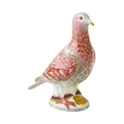 New Royal Crown Derby 1st Quality Limited Edition War Pigeon Paperweight