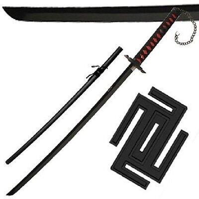 Ichigo Tensa Bankai Sword Cutting Moon Zangetsu Katana Bleach anime cosplay edge