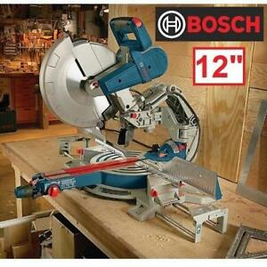 "NEW BOSCH 12"" GLIDE MITER SAW GCM12SD 194119416 BEVEL 15 AMP CORDED SAWS WOODCUTTING WOODWORKING CUTTING POWER TOOL G..."