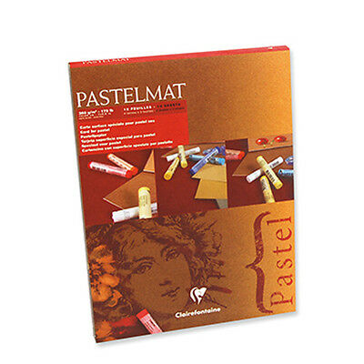 Clairefontaine Pastelmat - Pastel Card Pad - 360g 4 Shades - 96016C - 18 x 24cm