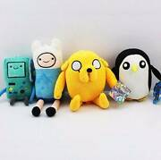 New Finn Jake BMO Gunter Adventure Time Plush Soft Toy Dolls Wellington Point Redland Area Preview