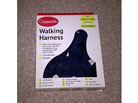 Clippasafe walking harness, Navy (occasionally used)