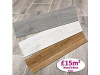 last remaining offer Wooden Floor tiles - £15per sqm inc vat- offer ending soon