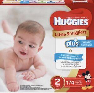 Couche little snugglers PLUS #2