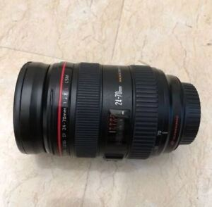 Canon 24-70mm F2.8 L Lens Version 1. Mint Condition.