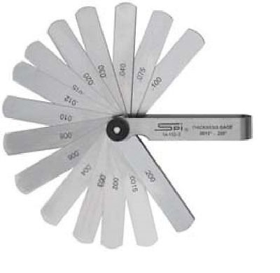 Feeler Gage Thickness Set 3 Leaf Length .015- 0.2 Th 14-152-3