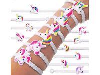 2x UNICORN 🦄 Wristband Bracelets 🦄