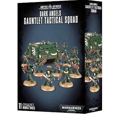 ARMOURED ASSAULT: DARK ANGELS GAUNTLET TACTICAL SQUAD -Games Workshop Warhammer