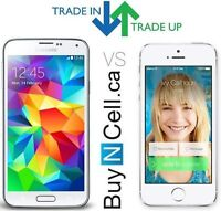 WE PAY CASH FOR IPHONE TRADE IN TO A SAMSUNG IPAD OR MAC