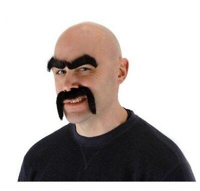 Tough Guy Facial Fur Costume (Guy Facial)