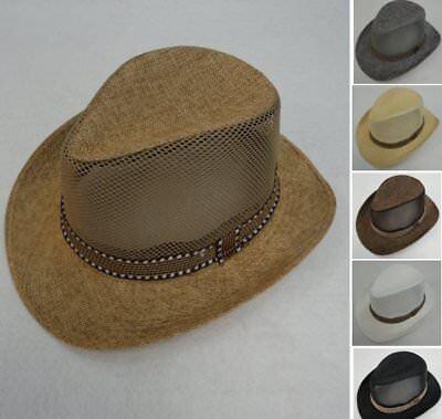 72pc Small Brim Mesh Side Cowboy Hats Western Hat Bulk Wholesale Lot Astd Colors - Bulk Cowboy Hats