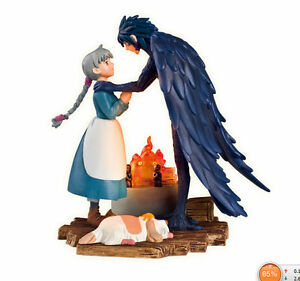 10cm STUDIO GHIBLI Classics Movie Howl's Moving Castle Howl&Sophie Figure Toy