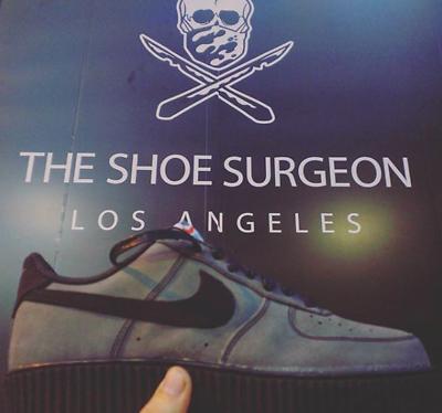 The Shoe Surgeon Custom Nike Air Force 1 x Puma Fenty