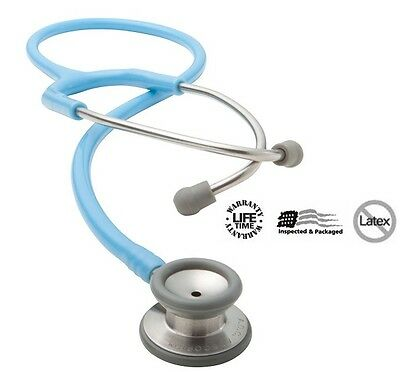 New Adc Adscope 604 Series Pediatric Non-chill Comfort Professional Stethoscope