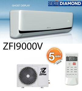 CONDIZIONATORE INVERTER ZEPHIR 9000 BTU A++ CLIMATIZZATORE ...