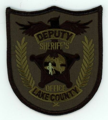 LAKE COUNTY SHERIFF FLORIDA FL NICE NEW SUBDUED SWAT PATCH POLICE