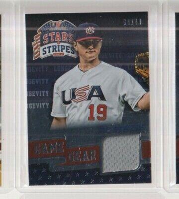 2015 Panini USA Stars & Stripes Baseball Game Gear Joe DeMers Relic /49