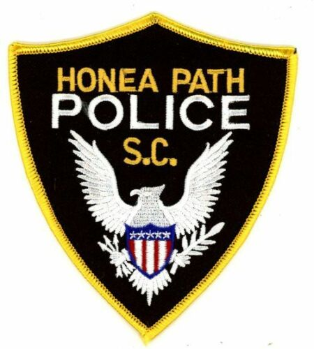 HONEA PATH POLICE SOUTH CAROLINA SC NEW PATCH SHERIFF