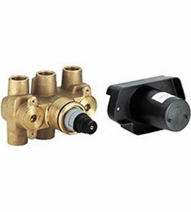Grohe 34908000 Grohtherm Thermostatic RoughIn Valve 3/4in. Inlets w/o Service