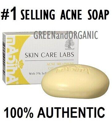 SULFUR SOAP Jabon de Azufre Acne Treatment 3.5oz #1 BEST ACNE & PIMPLE SOLUTION