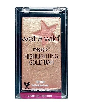 - Wet N Wild Megaglo Highlighting Gold Bar - Holly Gold-Head #36180