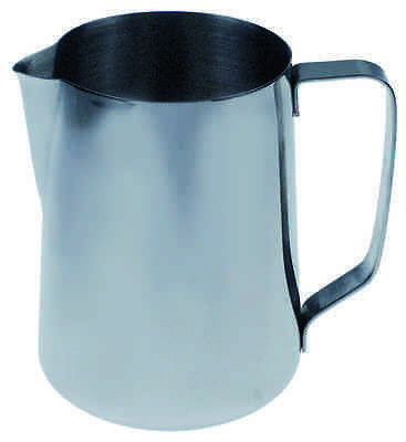 Milchkanne 1,5l Edelstahl   milk jug without lid capacity 1,5l stainless steel