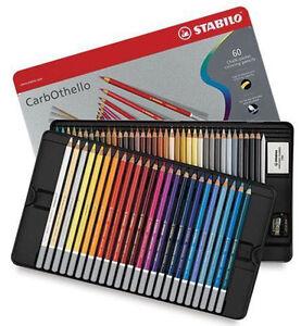 Stabilo Carbothello Pastel Pencils 60 Tin