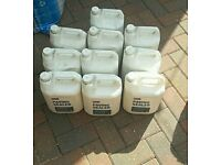 Paving Sealer 10×5lt. New and unused. For Block paving, patios etc.