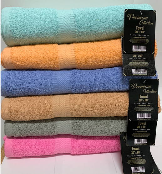 SPRINGFIELD LINEN Premium Bath Towel/ Bath Sheet Cotton 30""