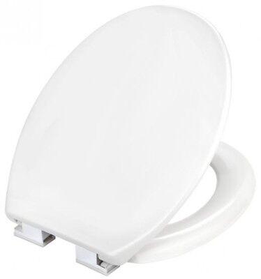 Cornat WC-Sitz Toilettensitz Taro / TAROX Duroplast weiß  mit Absenkautomatik