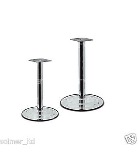 735mm quality chrome breakfast bar worktop support table. Black Bedroom Furniture Sets. Home Design Ideas