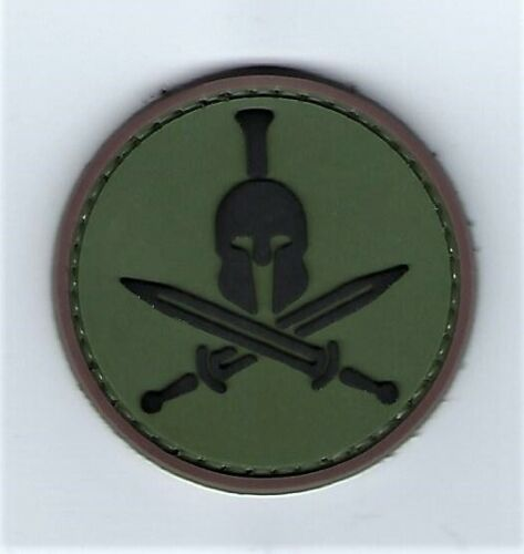 Spartan Molon Labe PVC Patch Hook & Loop (SEAL Special Forces Infantry GB) 67