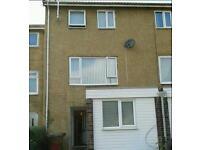 3/4 bed three storey house