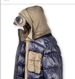 Goggle Hood CP Company Winter Coat