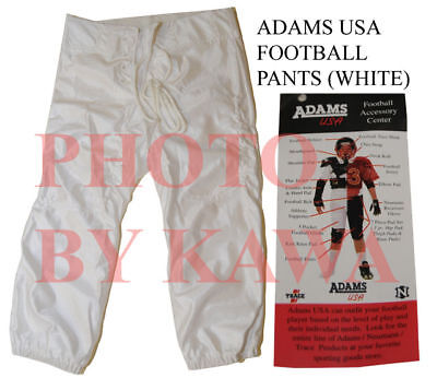 fa362a8e4a3 ADAMS Slotted Football Pants YDGP-791 White Youth LRG