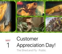 Customer Appreciation Day at The Shed and Fly