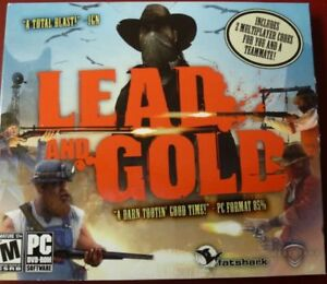 Lead and Gold - PC game