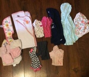 Baby girl clothes. Size 6-9 months and some 6-12 months.