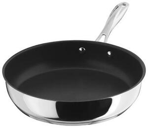 Stellar 7000 20cm Frying Pan Non Stick Stainless Steel Suitable for Aga Rayburn
