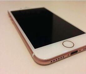 iPhone 7 rose gold 64gb o2