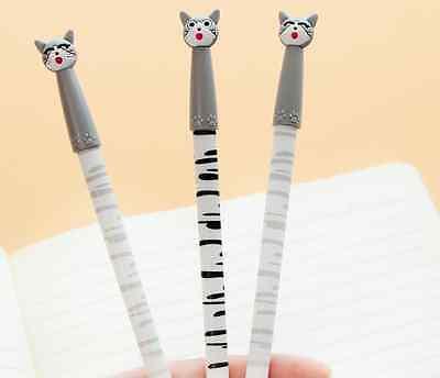 2 x Cute kitten cat fine pen point Party Cute Kids novelty stationery Kawaii