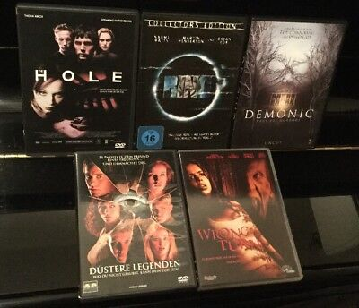 DVD Sammlung HALLOWEEN HORROR ***** 5 Filme Kult