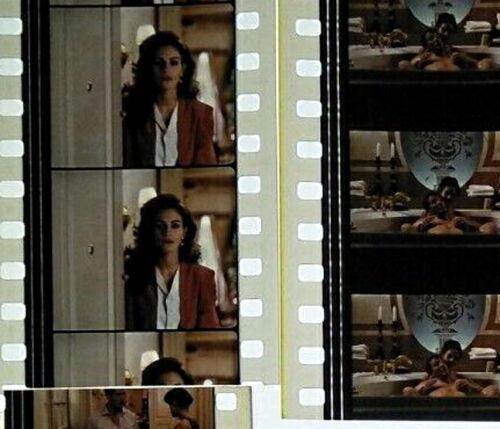 Pretty Woman Movie Julia Roberts 60 x 35mm Genuine Film Cells 12 x Strips (C)